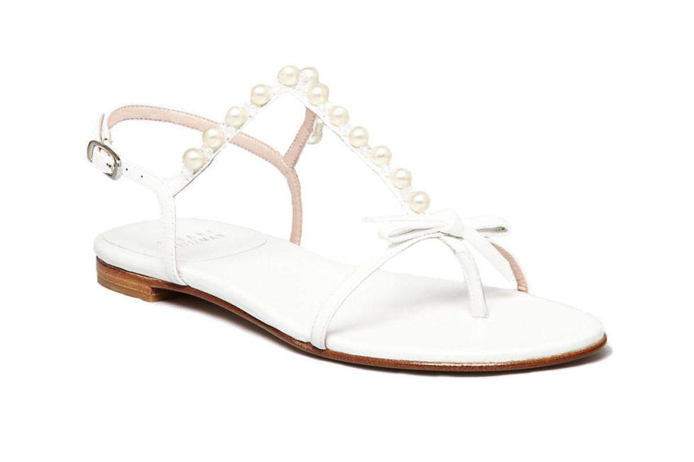 Flat Wedding Sandals For Bride Photo Album