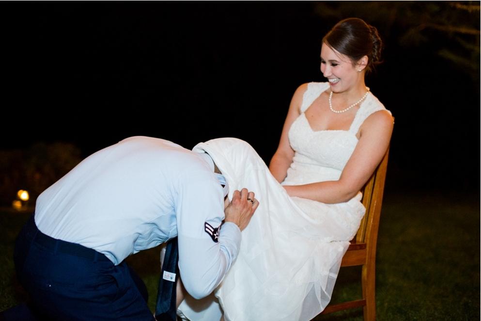 Garter Belt Wedding Tradition Origin