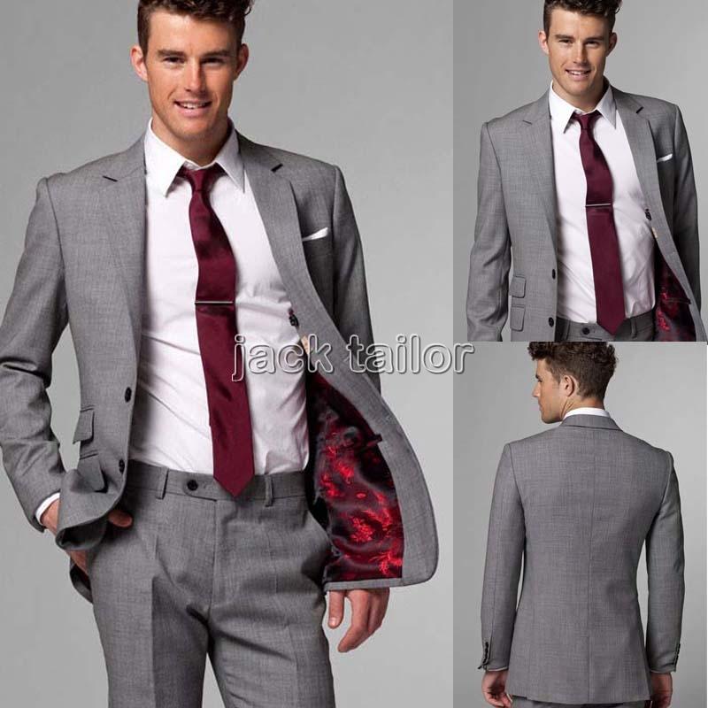 Wedding Grey Suit