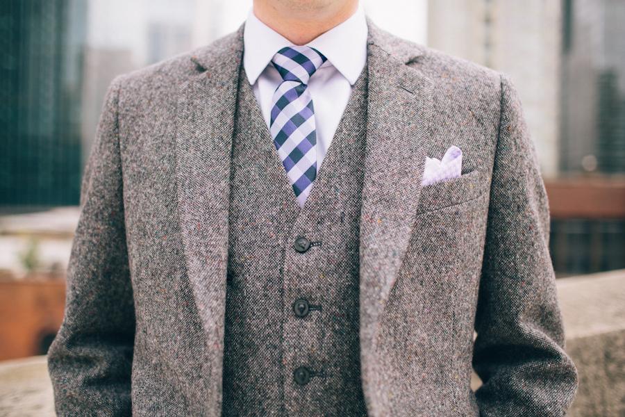 Tweed Wedding Suit