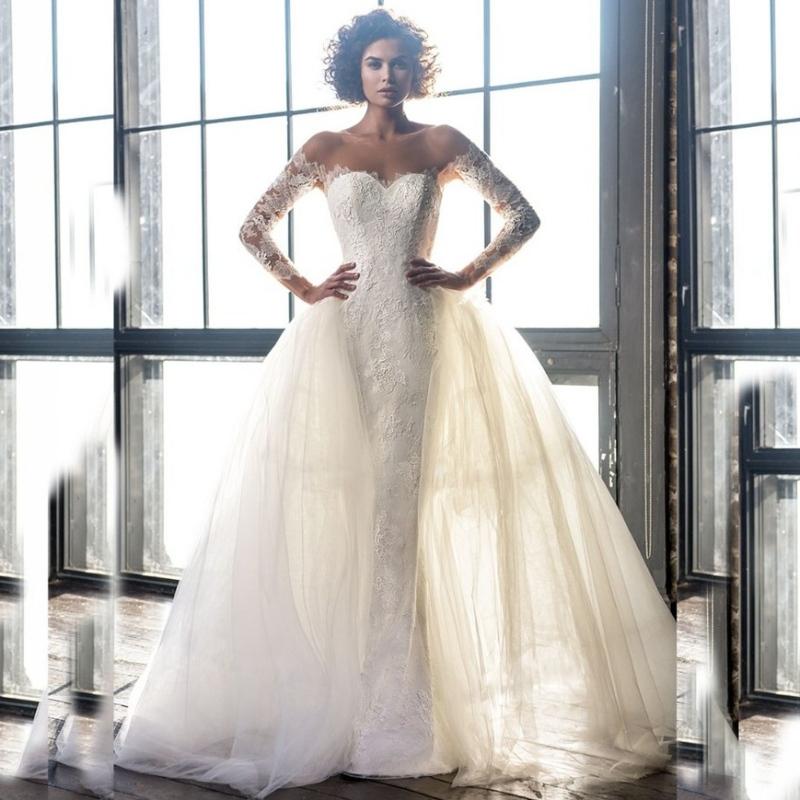 High Quality Wedding Dresses Removable Skirt – Emasscraft.org