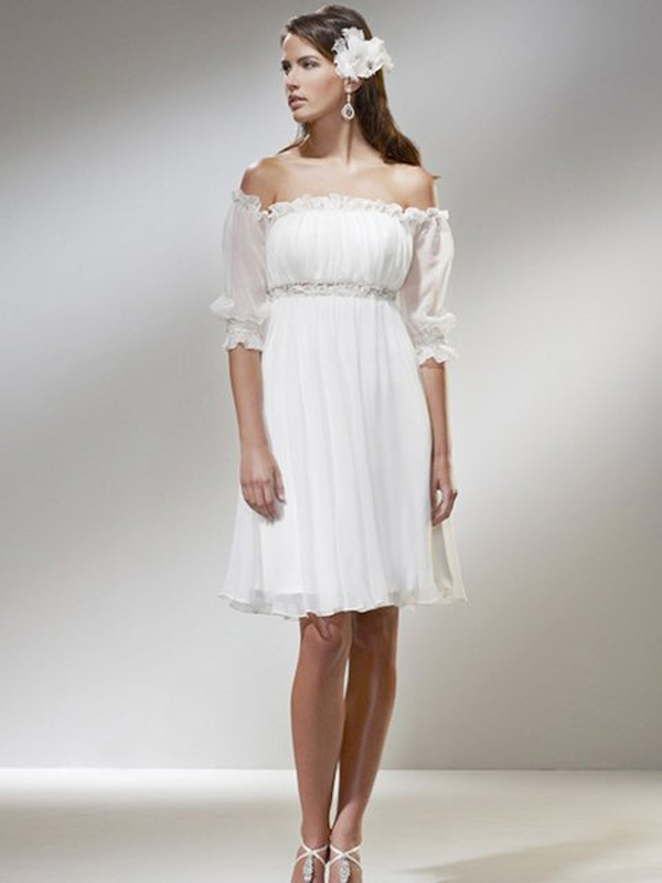 Images Of Short Casual Wedding Dress