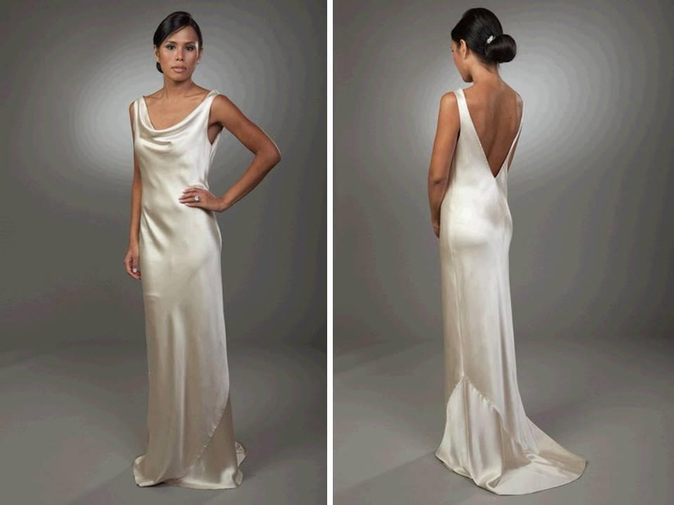 Images Of Silk Wedding Dress