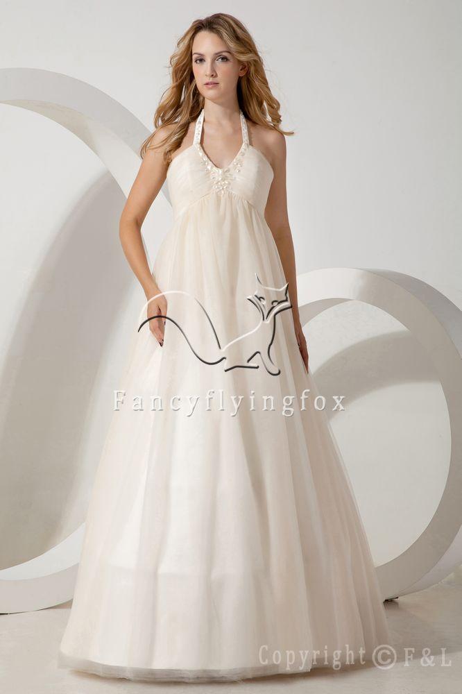 Wedding Dress For Pregnant Brides