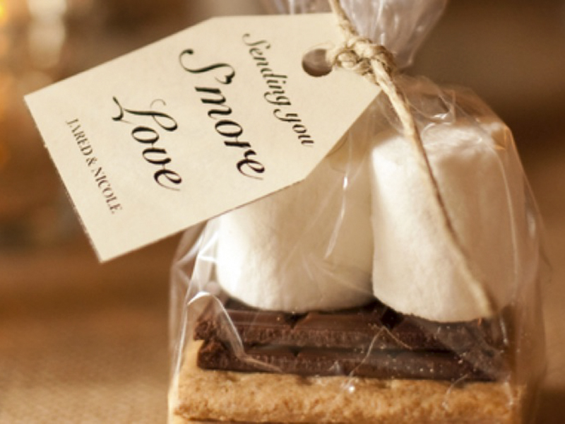 Opening Wedding Gifts: Inexpensive Wedding Favors Ideas