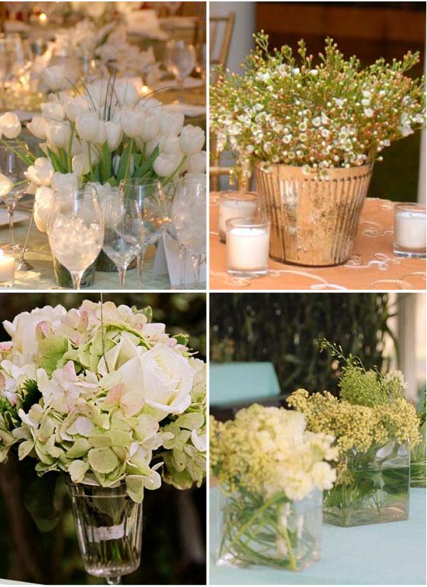 Inexpensive Wedding Flower Pleasing Arrangements For