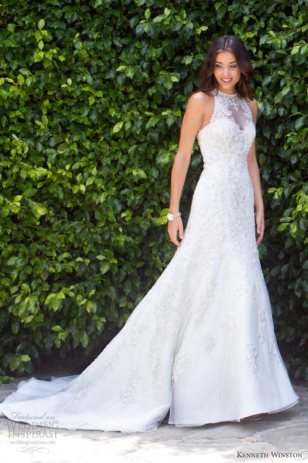 Halter Style Wedding Dress