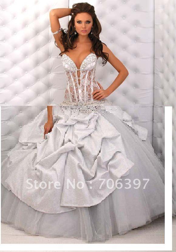 lace bustier wedding dress. Black Bedroom Furniture Sets. Home Design Ideas