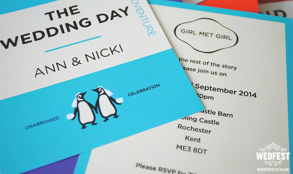 Gay Wedding Invitations: Lesbian Wedding Invitations