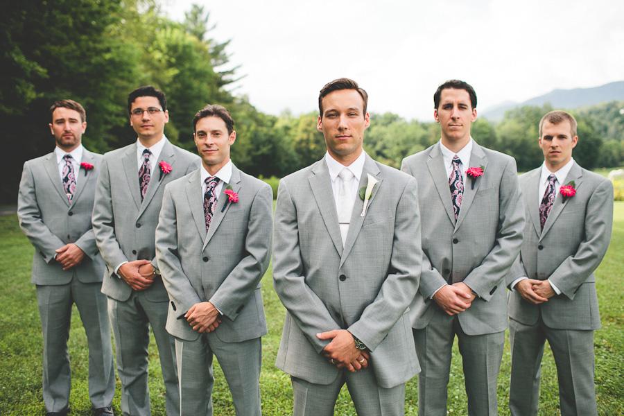 Summer Wedding Grey Suit