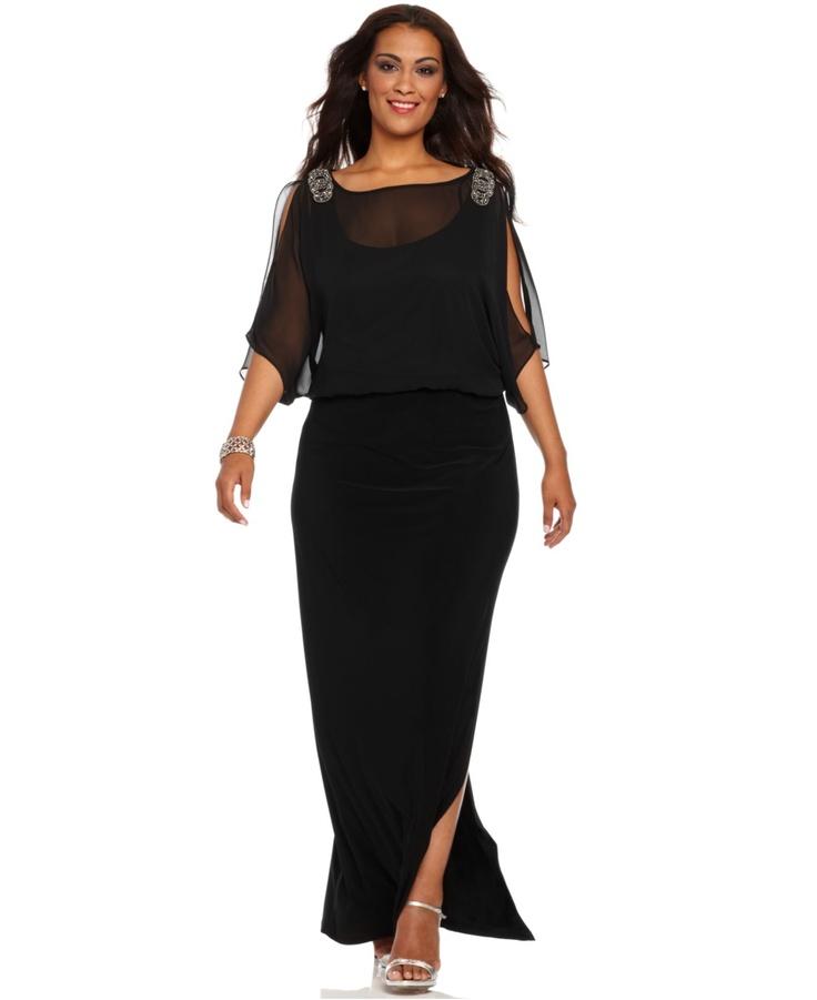 Macys Evening Dresses Plus Size Emasscraft