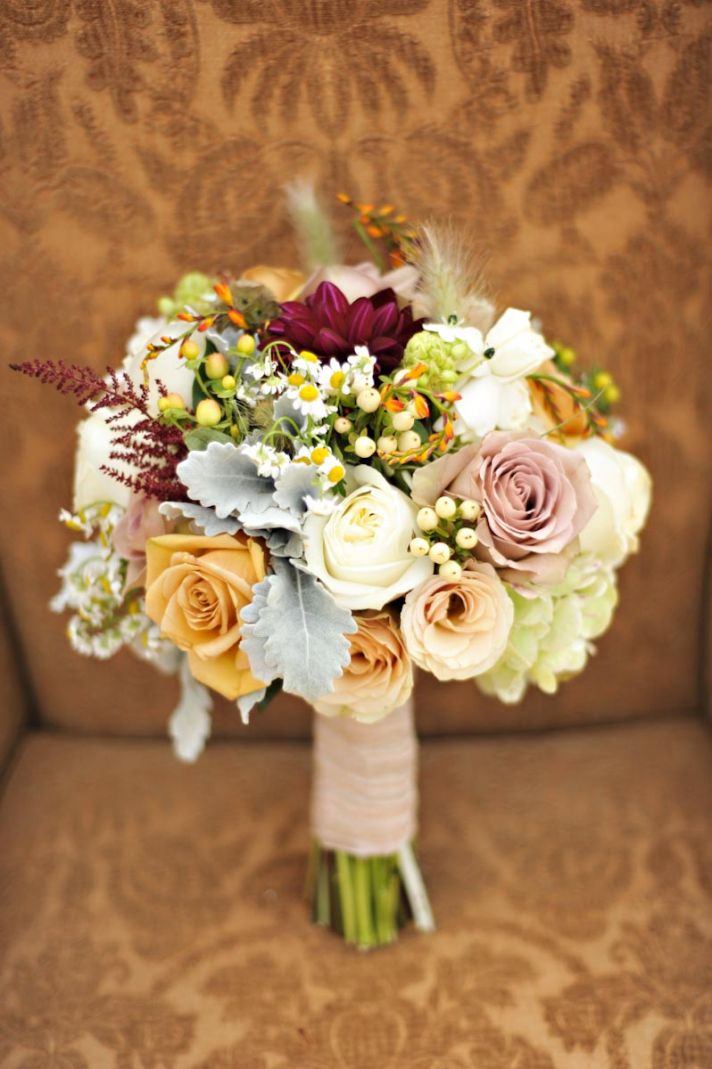 Country Wedding Flower Bouquets