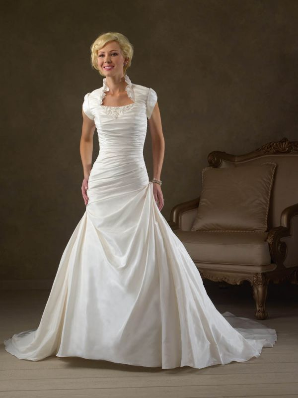 modest wedding dresses lds