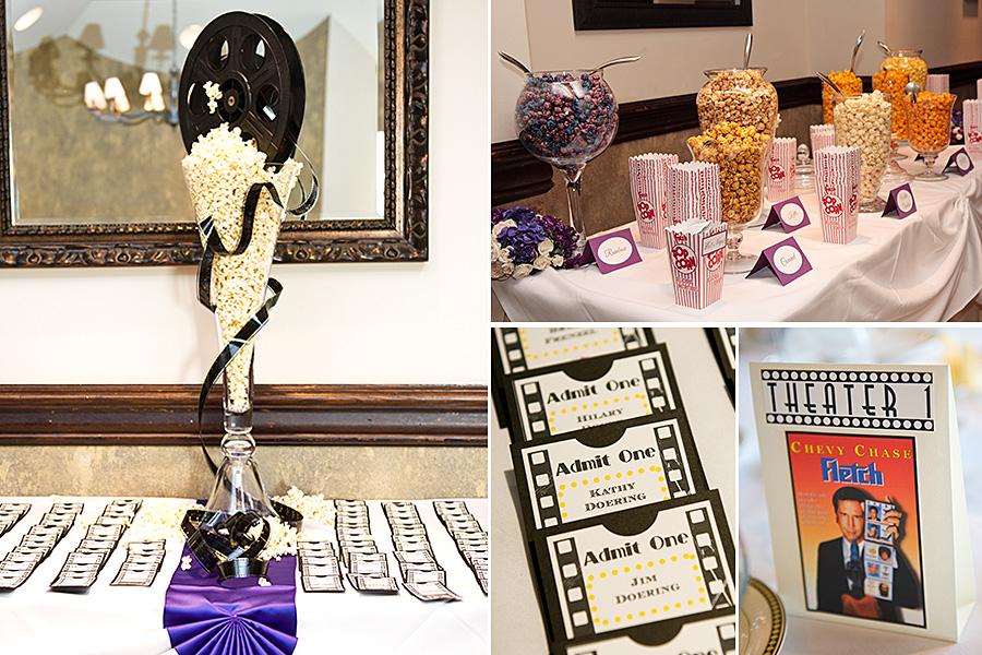 movie themed wedding ideas