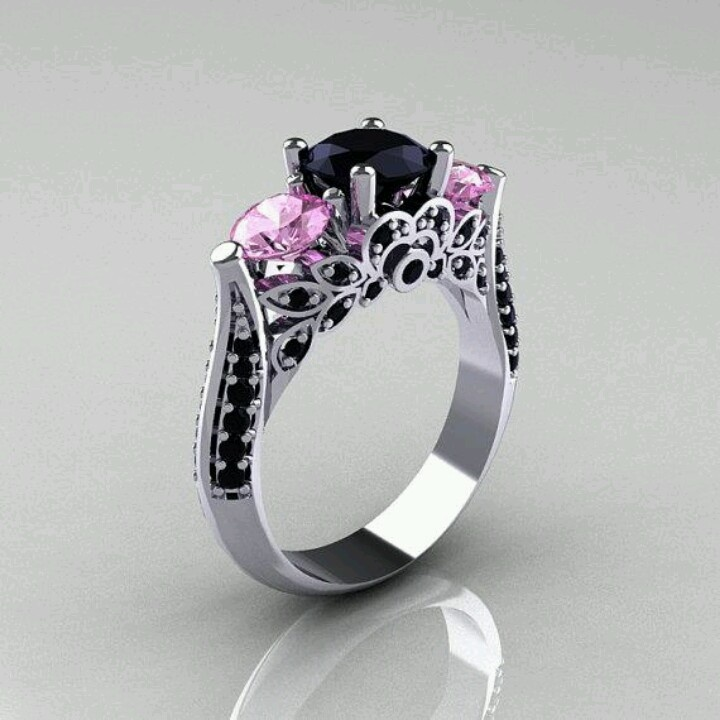 Non traditional wedding rings junglespirit Image collections