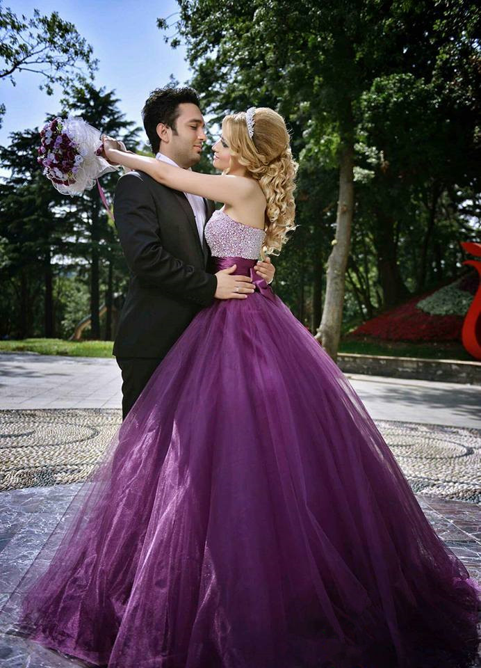 Purple wedding dress purple wedding dress online shop 2016 new fashion a junglespirit Image collections