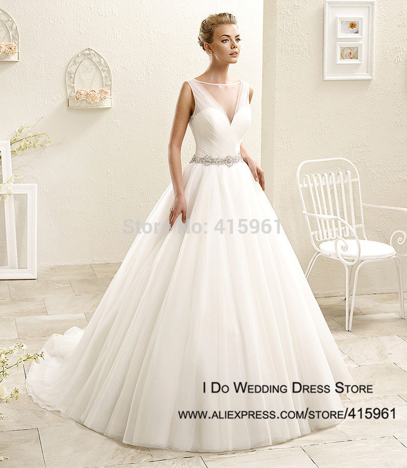 Simple Wedding Dress Boutique : Simple ball gown wedding dress