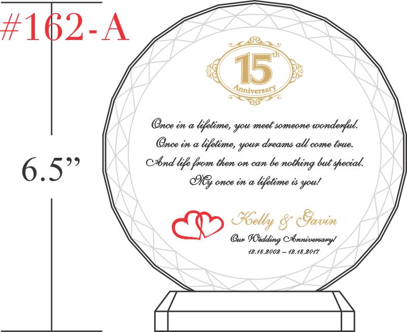 Our 15th Wedding Anniversary Gift Idea Emasscraft