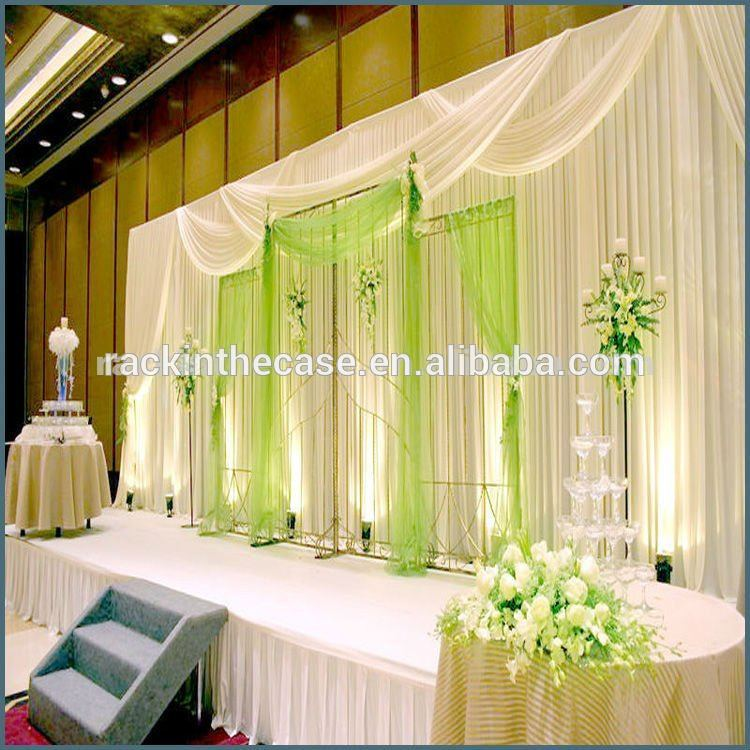 Diy Drapes For Wedding: Pipe And Drape Wedding Decoration