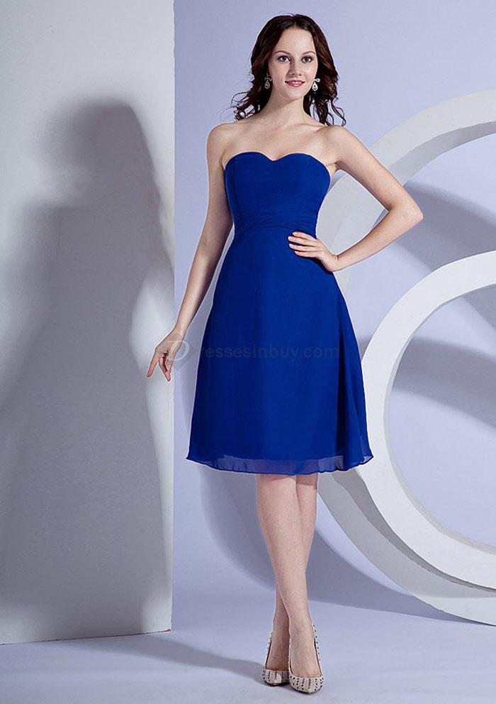 Blue Dress for Wedding