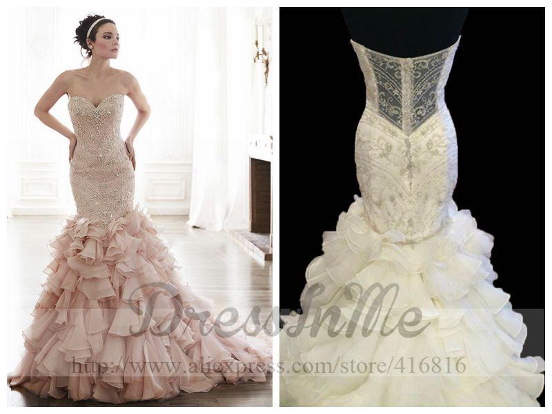 Sweetheart Corset Wedding Dress