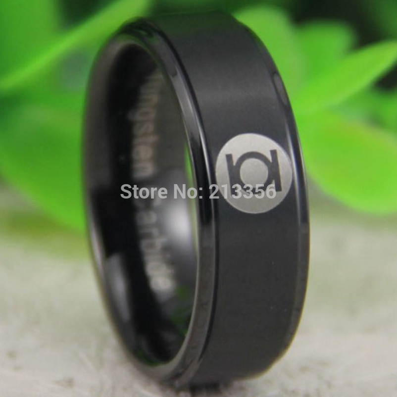Popular Green Lantern Wedding Band