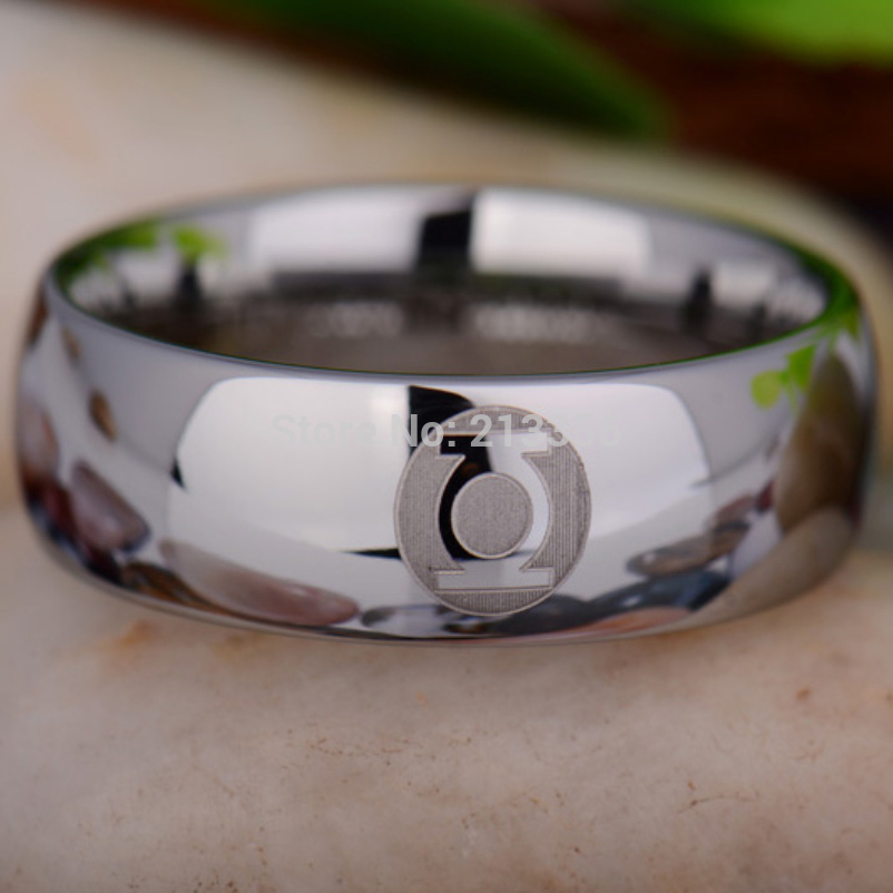 Popular Green Lantern Wedding Ring