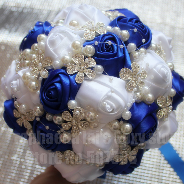royal blue and white wedding. Black Bedroom Furniture Sets. Home Design Ideas