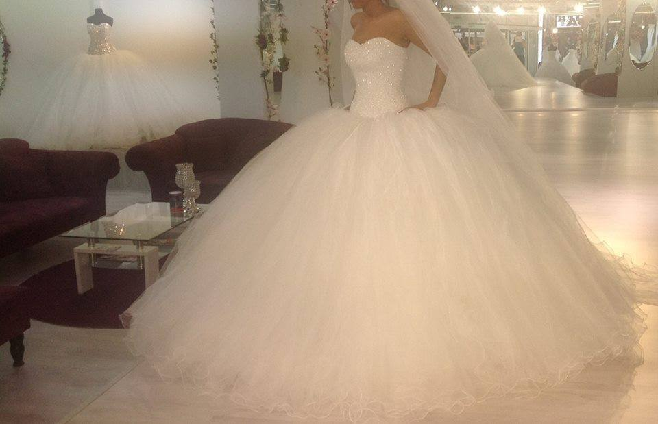 Big puffy wedding dresses wedding gown
