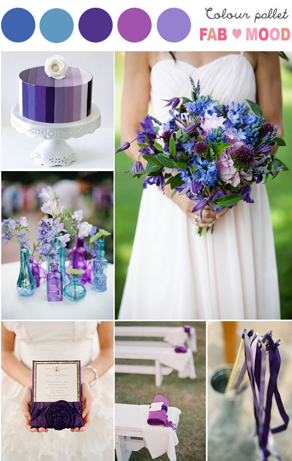 Purple and blue wedding colors purple blue wedding colors purple blue wedding theme junglespirit Choice Image