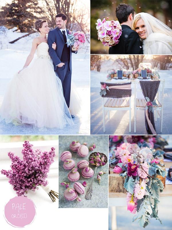 Winter wedding colors for bridesmaids dress purple hues for winter wedding color ideas and bridesmaid dresses junglespirit Gallery