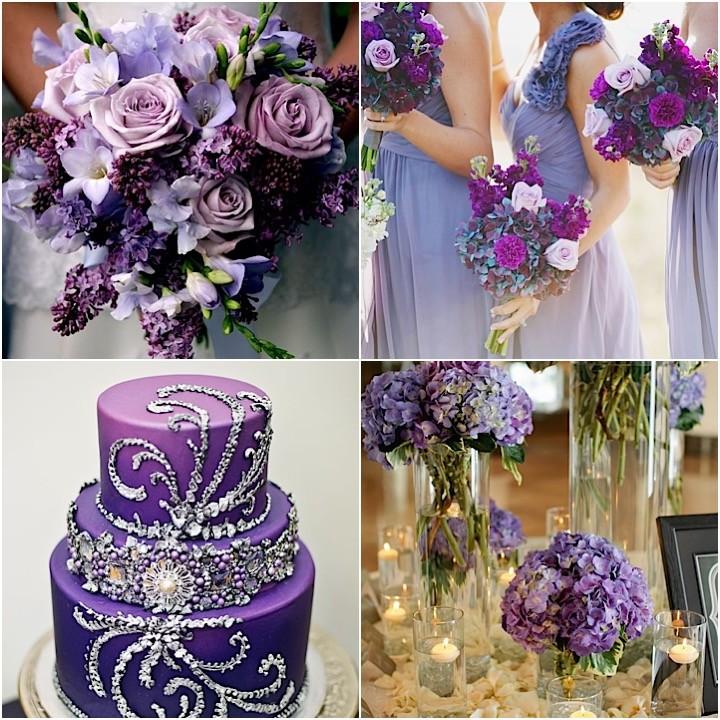 Purple wedding ideas junglespirit Gallery