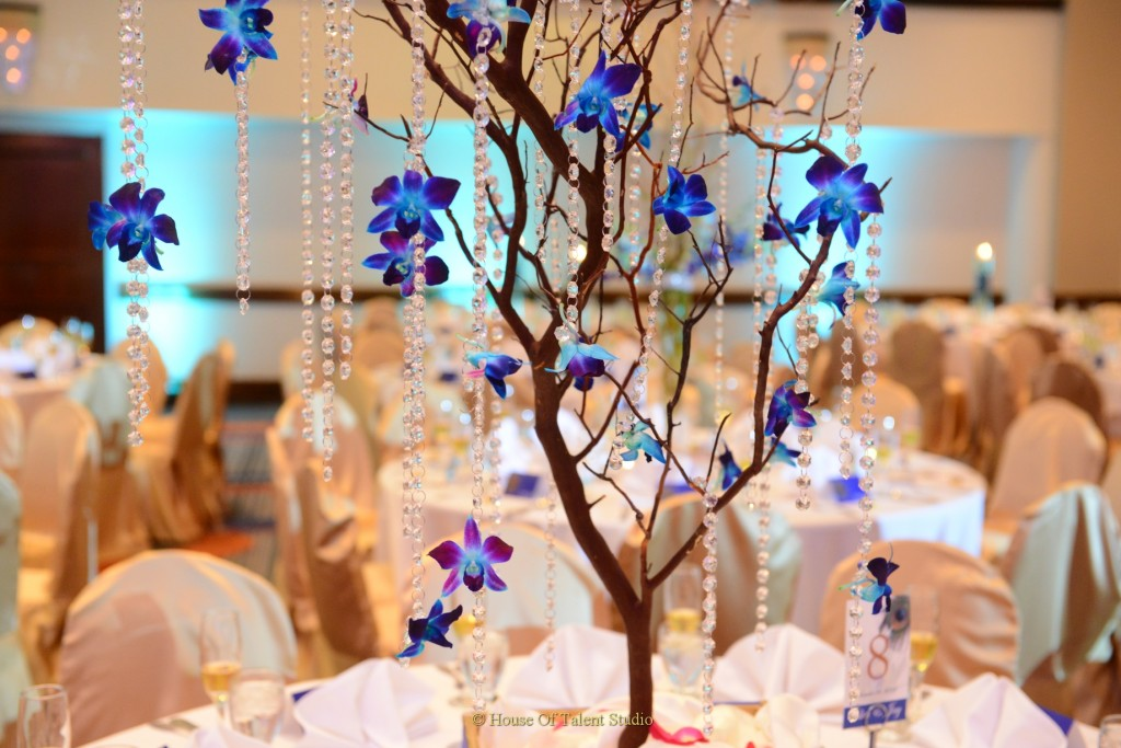 Royal Blue Wedding Decor