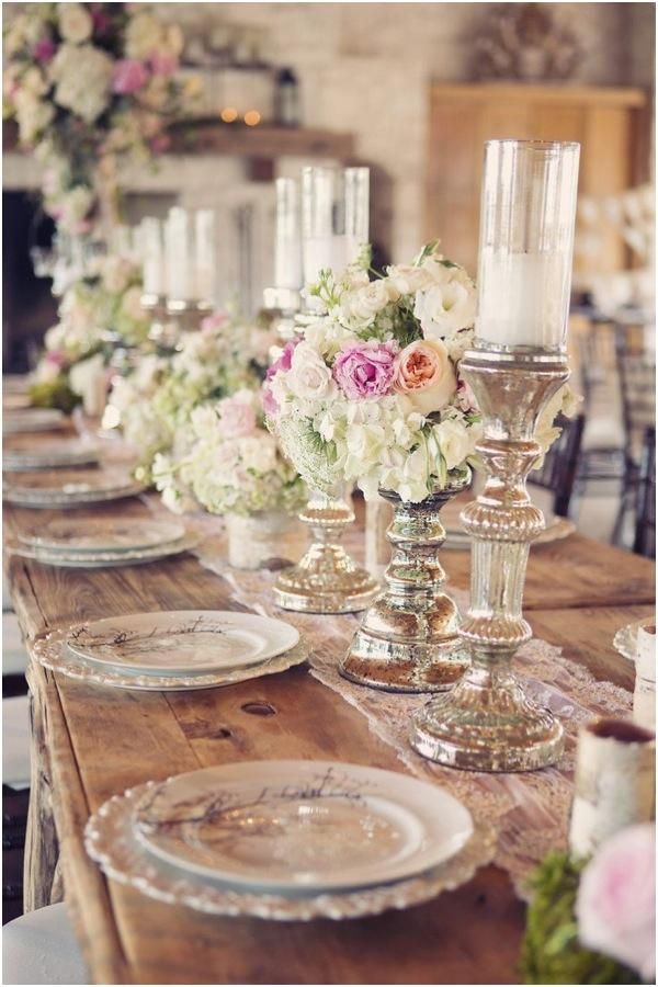 Rustic Vintage Centerpieces For Wedding