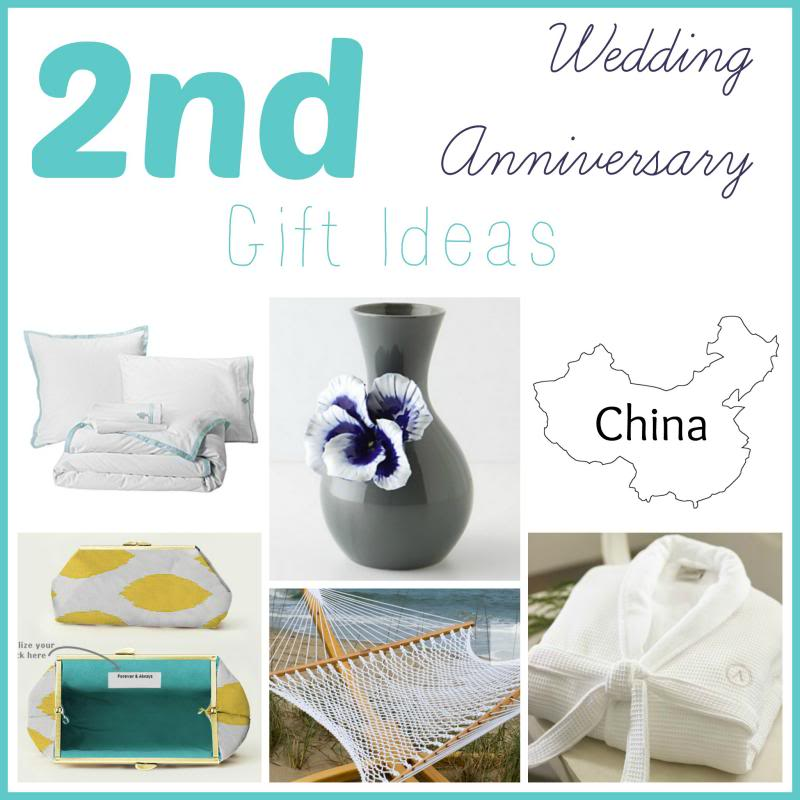 Gifts For A Second Wedding: 2nd Wedding Anniversary Ideas