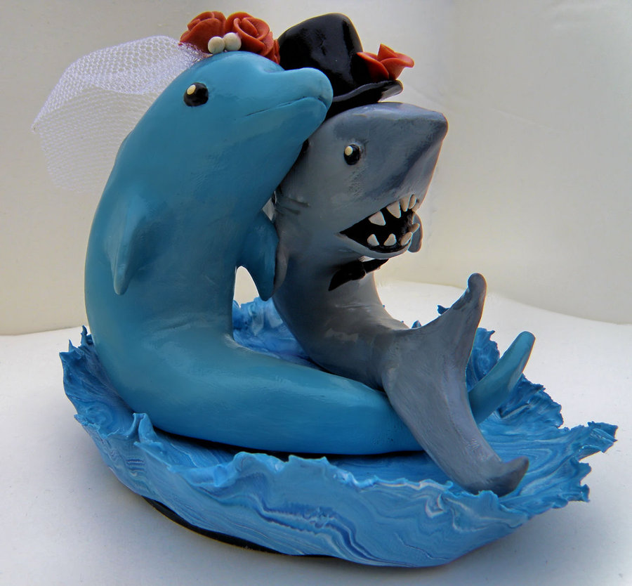 Dolphin Wedding Cake