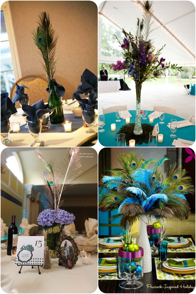 peacock wedding decoration ideas. Black Bedroom Furniture Sets. Home Design Ideas