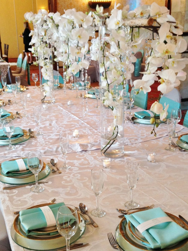 Tiffany Blue And Silver Wedding Decorations Emasscraft