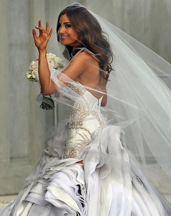 J Aton Inspired Wedding Dress