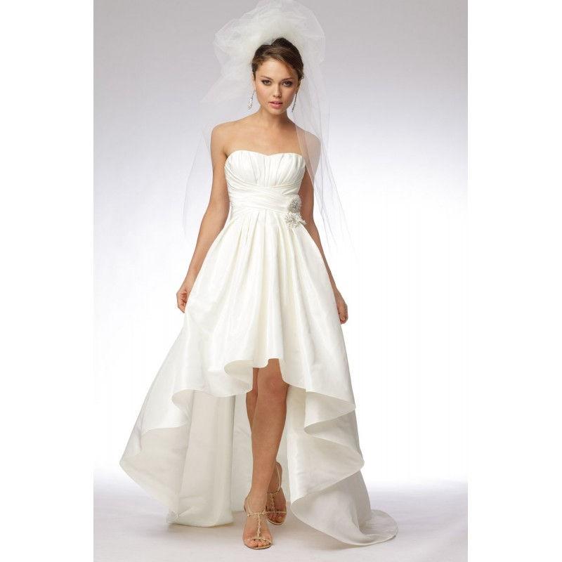Short Western Wedding Dress