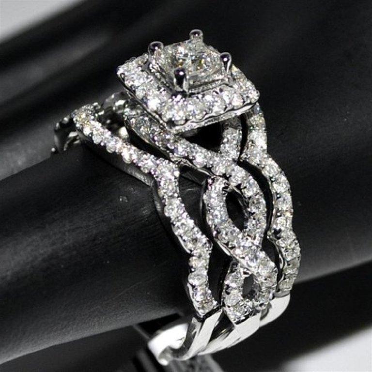 unique wedding rings for her. Black Bedroom Furniture Sets. Home Design Ideas