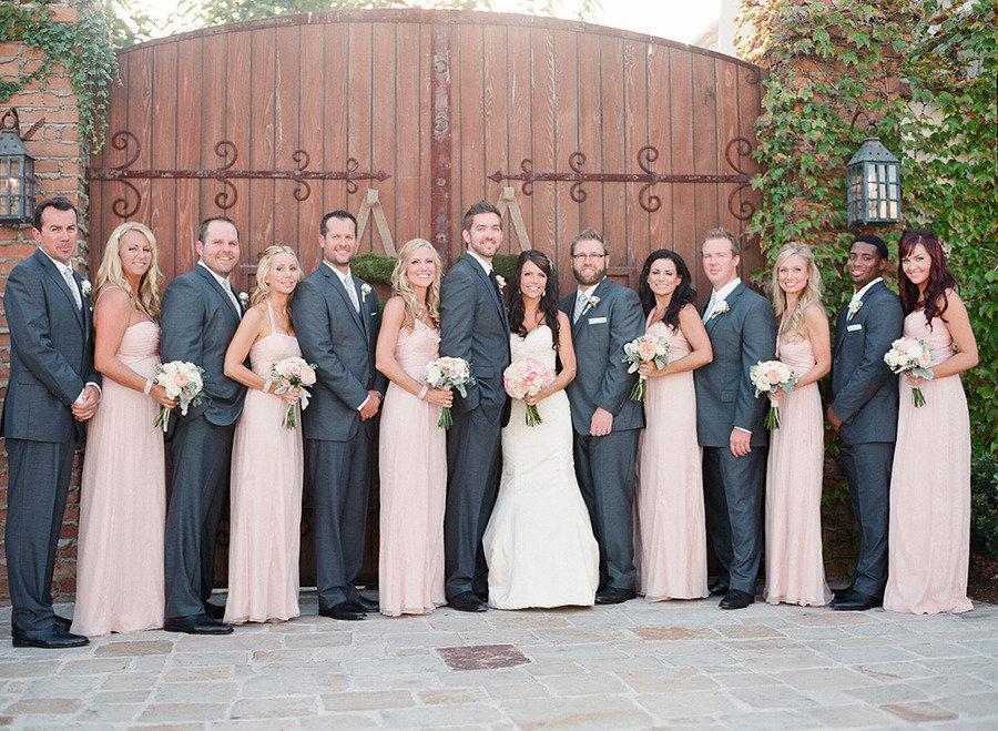 Grey Charcoal Wedding Ideas Inspiration Villa San Juan Capistrano From Lane Dittoe Fine Art