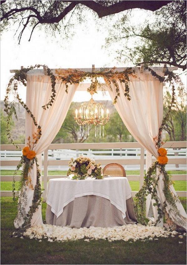 Vintage Rustic Wedding Decor