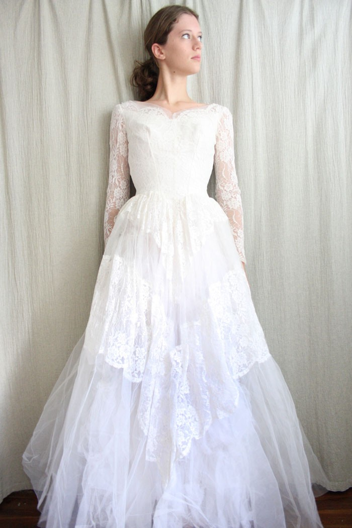 Vintage Wedding Dress For Sale