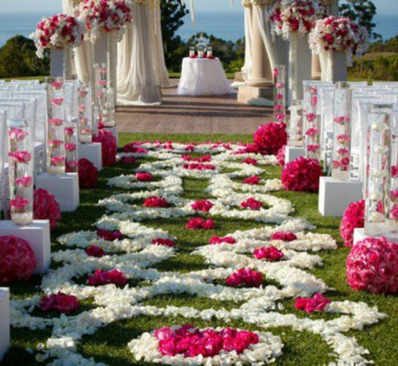Wedding Altar Decor