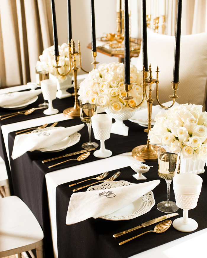 Art deco wedding decoration ideas for Art deco wedding decoration ideas
