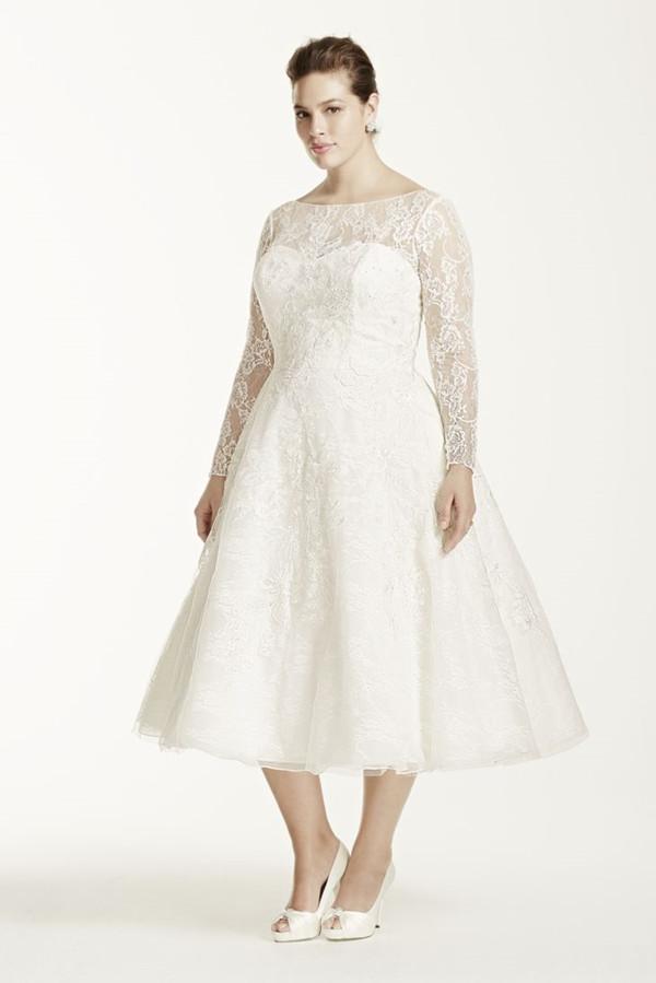 Wedding Dress For Curvy Figure