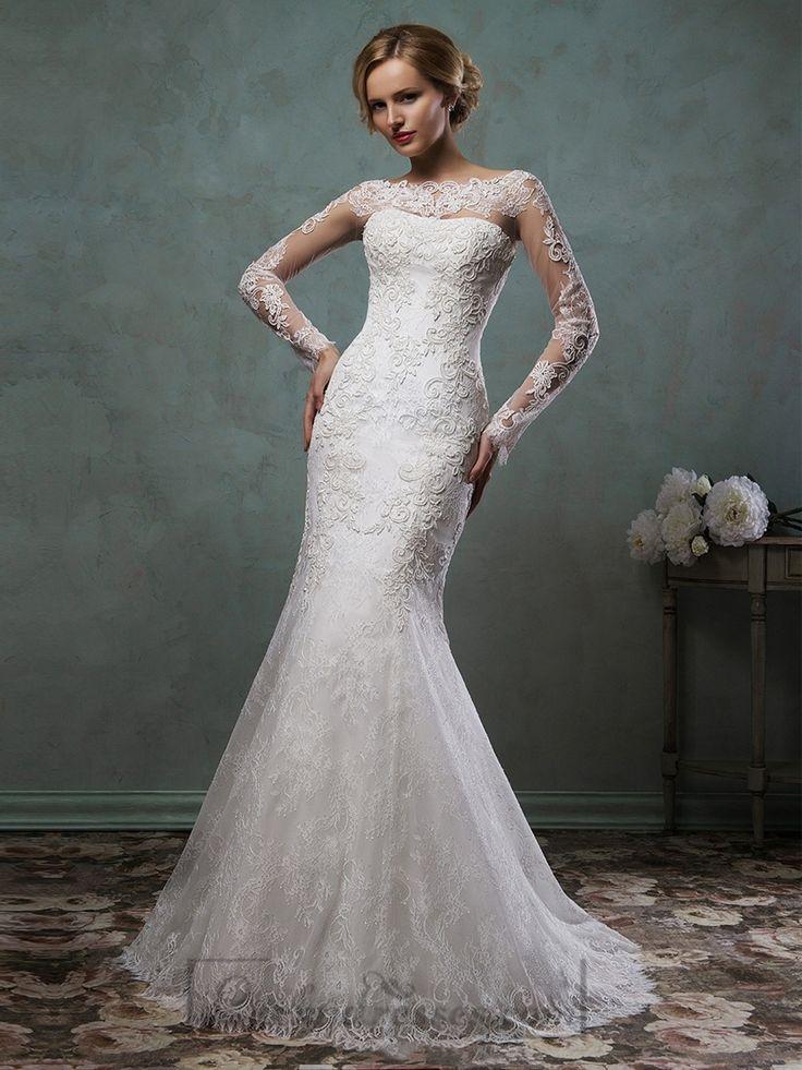 Mermaid Wedding Dresses With Sleeves   Wedding Gallery