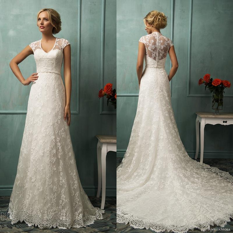 Wedding Dress For Women Over 40
