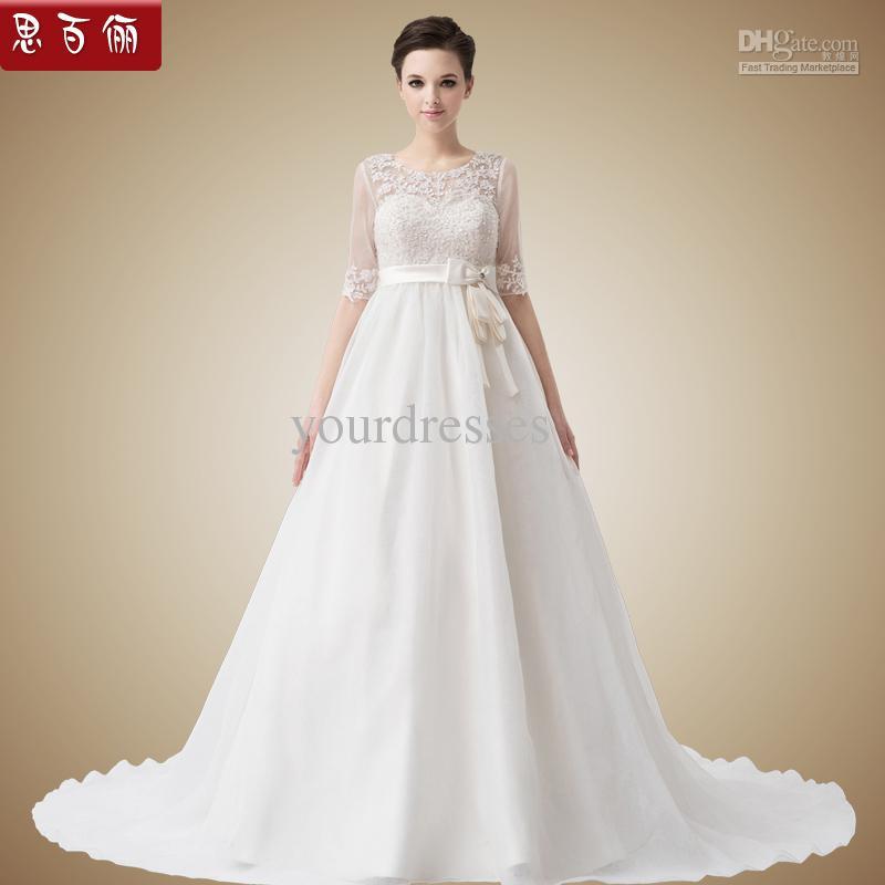Wedding Dresses For Pregnant Brides: Wedding Dress For Pregnant Brides